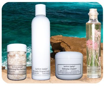 Revitalizing Sea Salt Scrub, Lotion, Extreme Cream and Body Oil